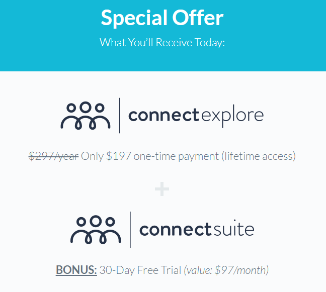 Connect Explore Pricing