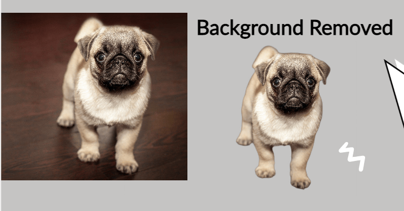 Pixelied Background Removal